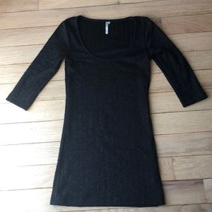 Arden B bodycon 3/4 sleeve dress